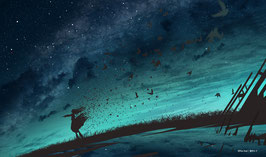 プレイマット 「星空の讃美歌」