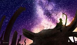 プレイマット 「星降る古跡」