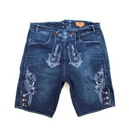 Jeans-Short, jeansblau