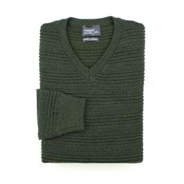 Wollpullover, grün