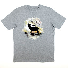 T-Shirt Wild Thing, grau