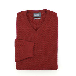 Wollpullover, rot