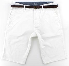 Bermuda-Short, weiß