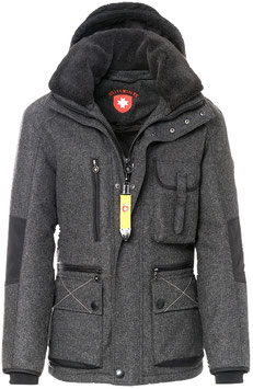 Winterjacke, anthrazit