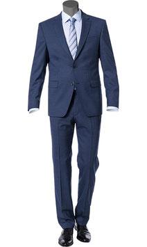 Anzug, nachtblau meliert