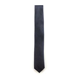 Krawatte, 6.0 cm breit, Anthrazit gemustert