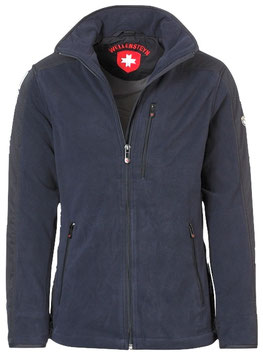 Fleecejacke, dark navy