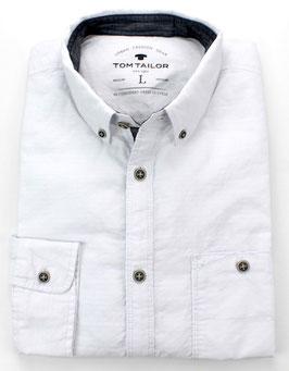 Sporthemd, weiß uni