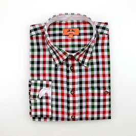 Oktoberfest-Hemd, mehrfarbig kariert