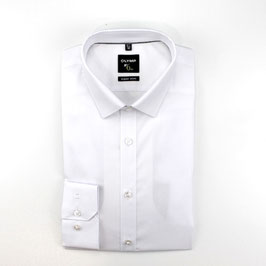 City Hemd, weiß uni
