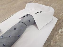 Krawatte 4000, 6.0 cm breit, jeansblau