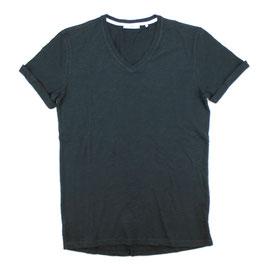 T-Shirt, schwarz uni