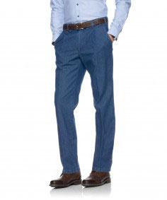 Bundfaltenhose 50-6900, blau