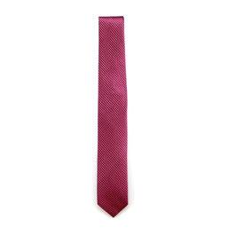 Krawatte, 6.0 cm breit, rosa gemustert