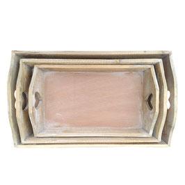 Tablett Holz Herz