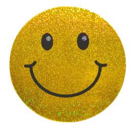 スマイリー ステッカー ラメタイプ(SMILEY sticker) 6cm×6cm type A  【タイ雑貨 Thailand Sticker】