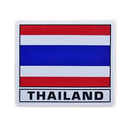 タイ王国 国旗 ステッカー(THAILAND National Flag Sticker ) MS サイズ type A - タイ雑貨 アジアン 雑貨 スーツケース トランク 旅行 グッズ -