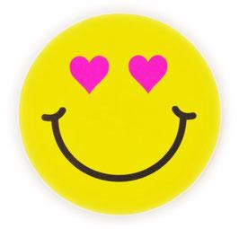 スマイリー ステッカー ジャンボサイズ (JUMBO size  SMILEY sticker) 10cm×10cm  Lサイズ type E  【タイ雑貨 Thailand Sticker】