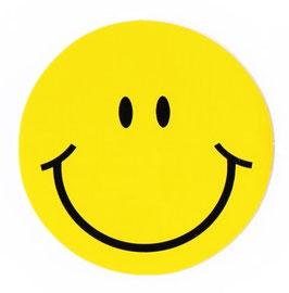 スマイリー ステッカー ジャンボ サイズ プラス (JUMBO size  SMILEY sticker) 11.2cm×11.2cm  Lプラス サイズ type A  【タイ雑貨 Thailand Sticker】