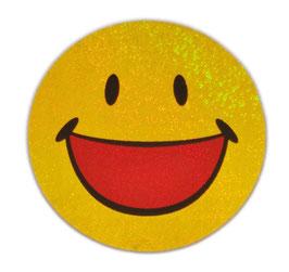 スマイリー ステッカー ラメタイプ(SMILEY sticker) 6cm×6cm type G 【タイ雑貨 Thailand Sticker】