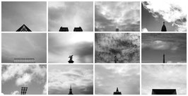 """""""Noir et Blanc Ciel de Paris"""", Leandro Guardado"""