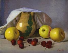 Manzanas y cerezas