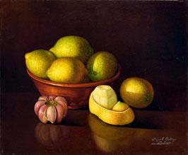 Cesto con limones