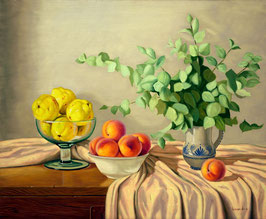 Melocotones y limones