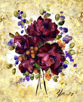 Flores moradas