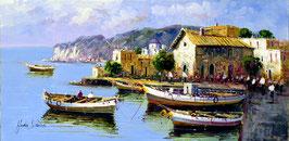 Barcas de pesca en el puerto
