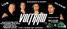 Voltraid Live im Backstage 246 - Ingolstadt am Samstag 14.01.2017
