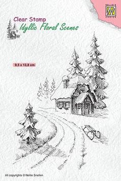 ifs 023  Clearstamp:  Winter landschap