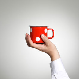 Kaffeetasse Rot