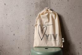 YIV Geschenk Tasche / Fairtrade, GOTS, Blauer Engel