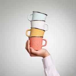 Kaffeetassen Sprenkel Quartett