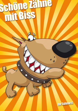 Comicposter Hund