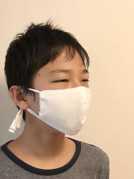 未晒し木綿のお肌に優しいマスク(こども、お顔の小さい方)