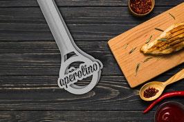 aperolino's Edelstahl Grillzange made in Swiss