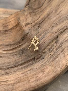 Ohrstecker Schwinger in Silber 925 oder Gelbgold 750