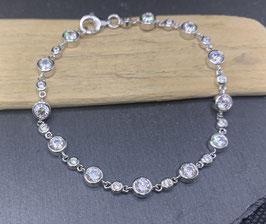 Bracelet Silber 925 rhodiniert