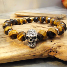Armband facettiertes Tigerauge