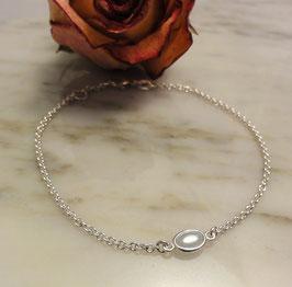 Feines Bracelet in Silber 925