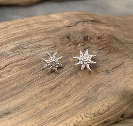 Ohrstecker Edelweiss klein Silber 925
