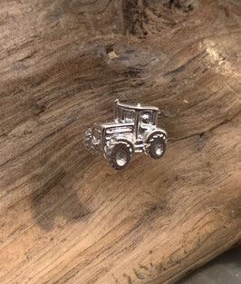 Ohrstecker Traktor Silber 925