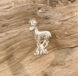 Ohrstecker Gemse Silber 925 oder Gelbgold 750