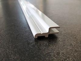 Magnetträgerprofil für Nischensituation zum Aufstecken einer Magnetdichtung, Länge: 2000 oder 2200 mm