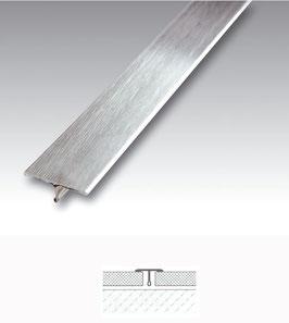 T-Profil aus Edelstahl, für Fugenabdeckung 14 mm; Länge: 200 oder 250 cm