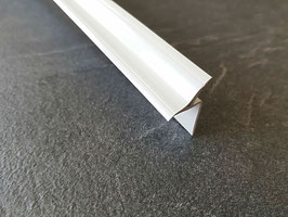 Fugenabdeckprofil für Fuge zwischen Duschwanne und Fliesenwand - PVC, Farbe: Weiß, Art.Nr. BP/25