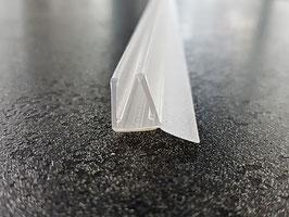 Streifdichtung mit kurzer Dichtfahne, 100 cm, für 6 und 8 mm universal, Art.Nr. 5119