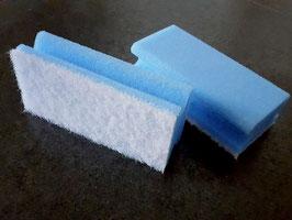 Pflegeschwamm für die schonende Reinigung empfindlicher Oberflächen